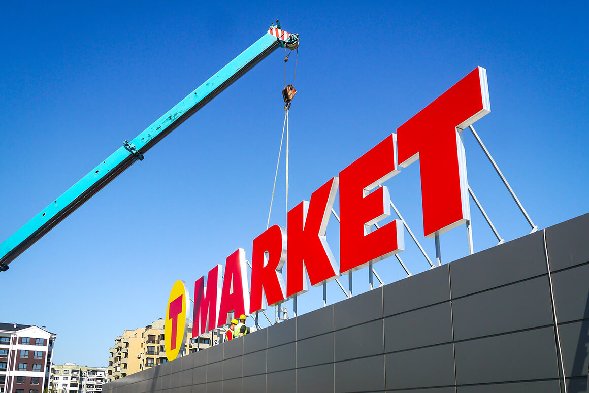 Very large channel letters - TMarket