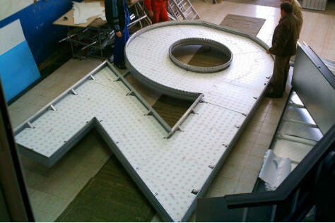 Very large channel letters - Zona