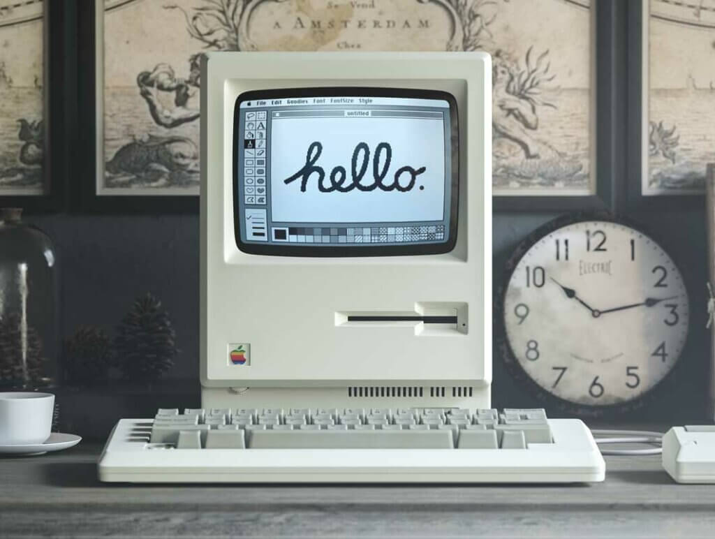 Макинтош, Apple - Каква е разликата между серифен и безсерифен шрифт?