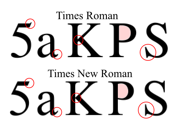 what is the difference between serifs and sans-serif fonts?