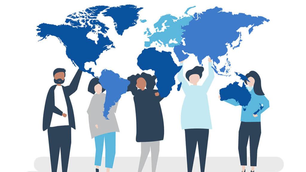 Видове дигитален маркетинг  - Интернационална реклама