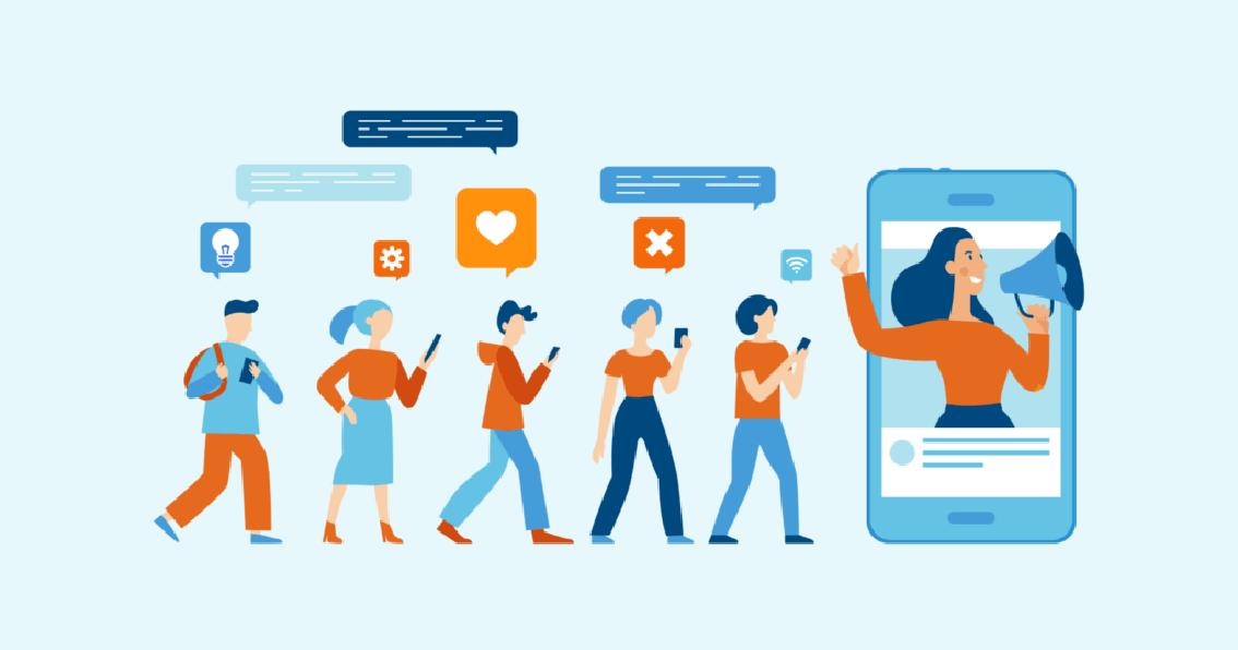 Influencer Marketing - digital marketing types